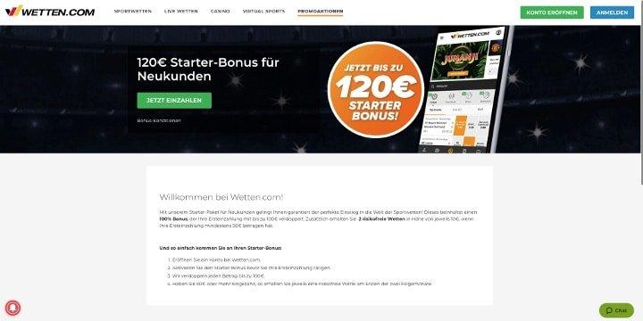Bonus Wetten.com