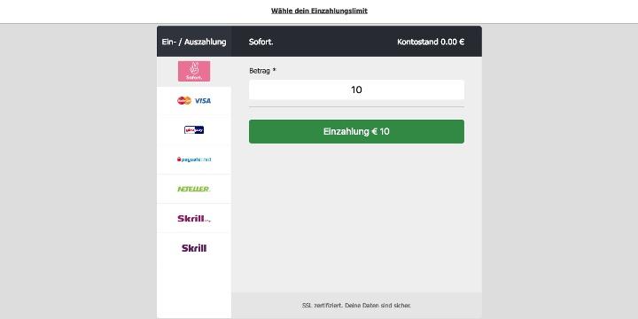 MoPlay Zahlungsmöglichkeiten