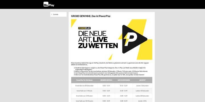 MoPlay Live Wetten