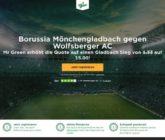 Mit Top Quote 15 auf den Sieg von Gladbach gegen Wolfsberger wetten